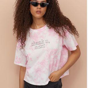 Ariana Grande H&M Thank You Next Pink T-shirt Med